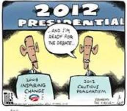 """Obama """"Squaring the circle."""""""