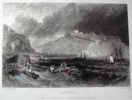 Dover on the east coast of Kent