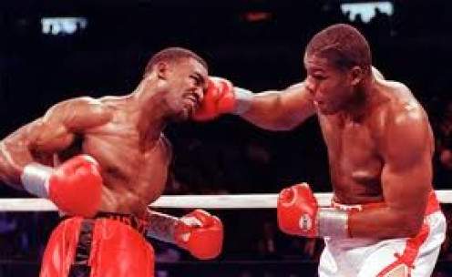 "Evander ""the real deal"" Holyfield vs Riddick ""Big Daddy"" Bowe 1 was voted as The Fight of the Year."