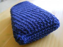 Crochet Donna's (Pineapple Stitch) Phone Cozy #6 Free Pattern