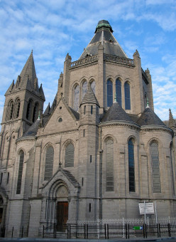 Bon-Secours Basilica, Belgium, seen from French territory