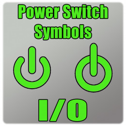 Pro Tip: The above symbols are often used to indicate power switches