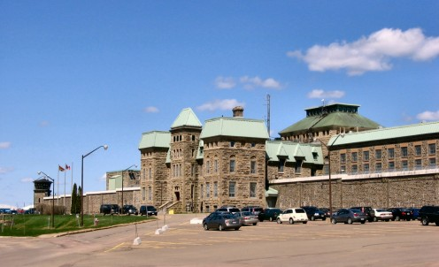 Dorchester Penitentiary in New Brunswick, Canada
