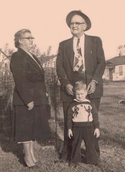 Grandma Ethyl, Grandpa John Gordon, Micky Dee