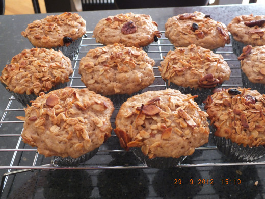 Who can resist a hot, out of the oven muffin?