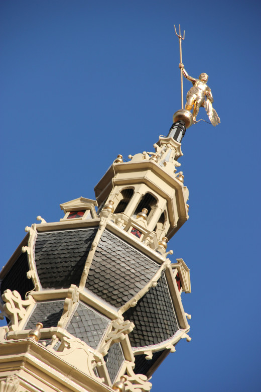City Hall Spire Detail, Zierikzee