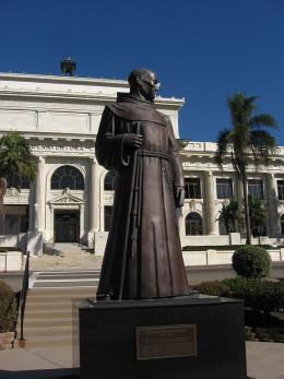 Statue of Father Junipero Serra