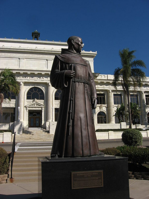 Statue of Father Junipero Serra