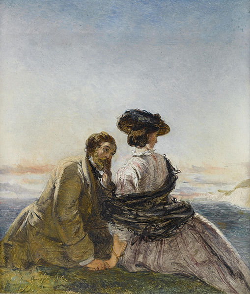 The Lovers, by William Powell Firth (1819-1909)