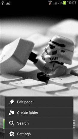 Android Settings Menu