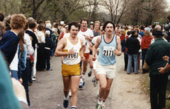 Me Back in the day - Old Kent River Bank Run 25K