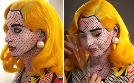 Now THIS is a cool idea! Copy a comic strip character completely! DOTS and all! COOL!