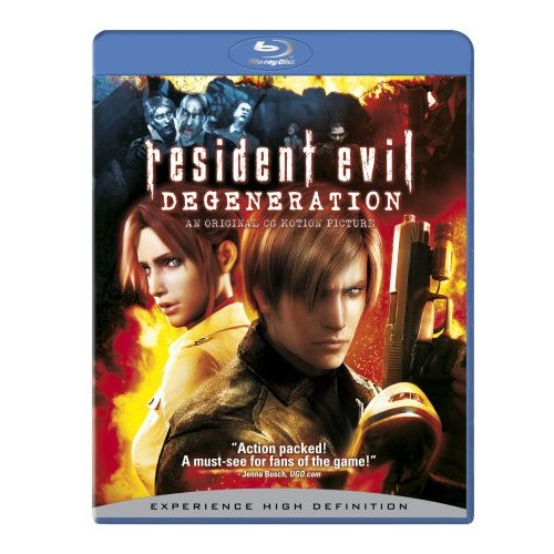 Resident Evil: Degeneration available on Blu Ray and DVD