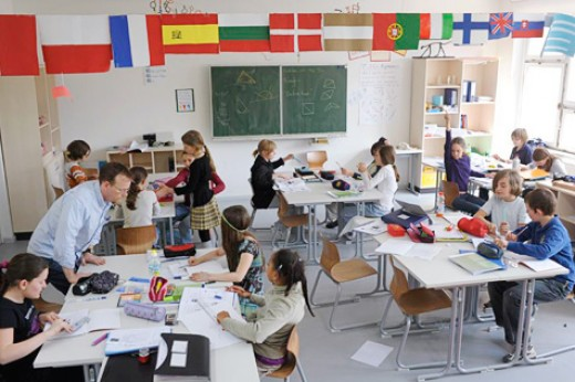 Classrooms of the Berlin Metropolitan School