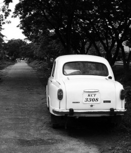Ambassador, the old Indian Family Car