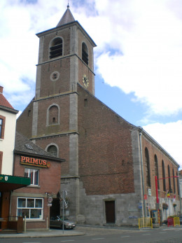 Beaumont church, Hainaut, Belgium