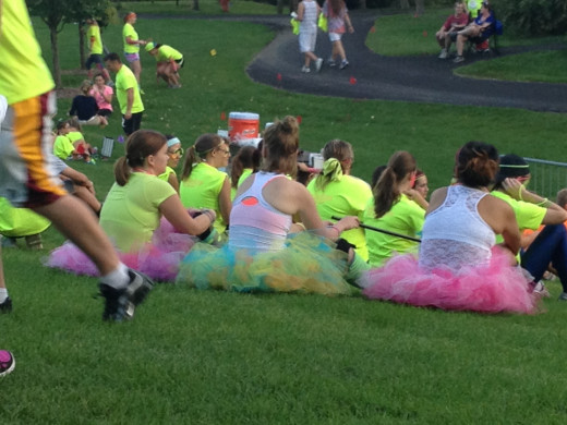 GLO Run ~ Twin Cities 2012 provided lots of color and fun!