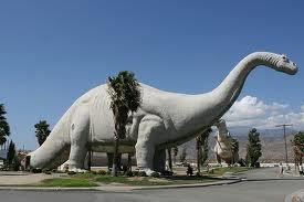 Behemoth/Brachiosaurus statue