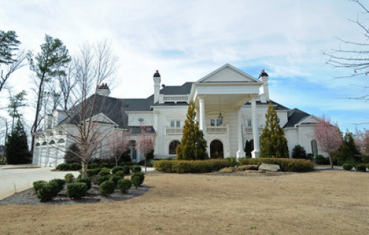 Michael Vick's home prior to his arrest.  It is now a dog sanctuary called Good News Rehabilitation Center. There is sometimes justice in this world!