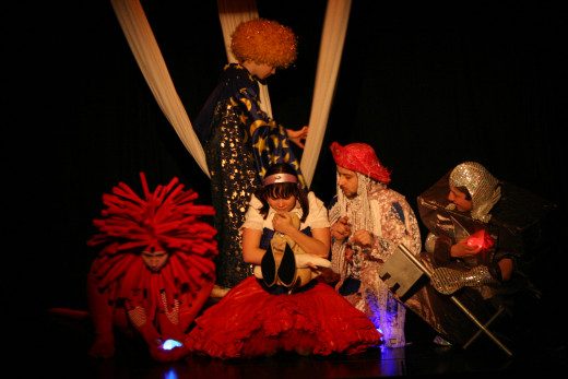 Slovenia: The Wizard Of Oz, adapted by Group Artizani, directed by Irena Rajh
