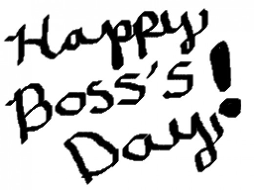 Make a sign for your boss's door!