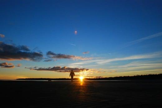 Ebb tide at Bruce Peninsula