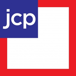 The current JCP logo
