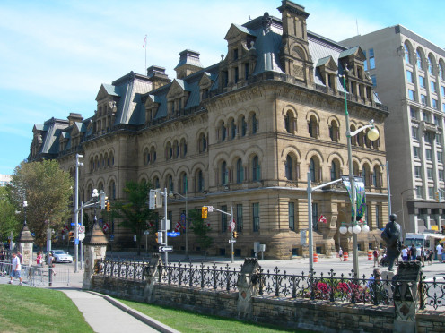 Langevin Block / Edifice Langevin, National Historic Site of Canada / Lieu historique national du Canada, Ottawa
