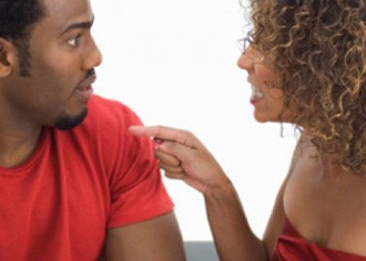Acccusations results when adultery occus