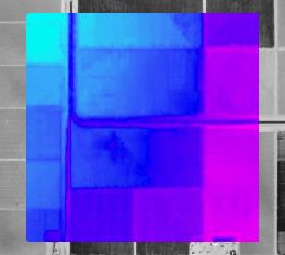 Colorized Raster Generated from the Original FLO-2D Grid