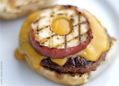 Grilled Apple Burger