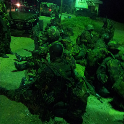 KDF soldiers at Kismayu