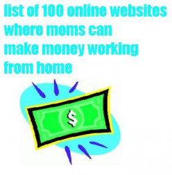 Tips to Help Moms Make Money Working Online