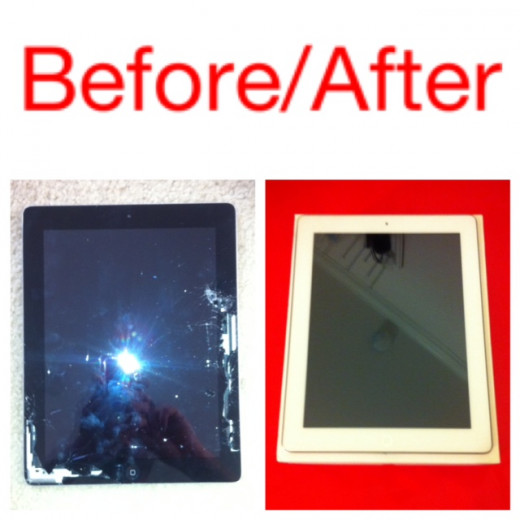 iPhoneProFix.com repaired our iPad2 screen