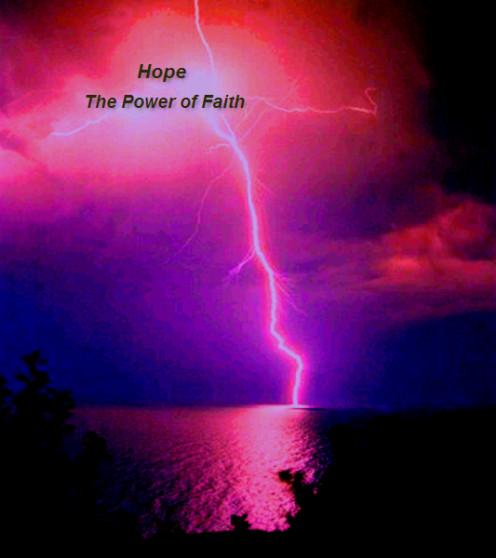 Hope - the power of faith.