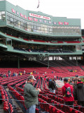Surrounded By Yankees Fans At Fenway Park