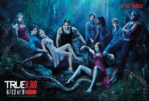 True Blood (2008) poster