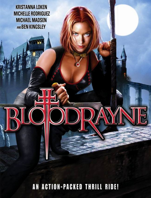 Bloodrayne (2005) poster