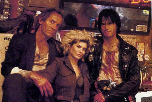 Lance Henriksen, Jenette Goldstein and Bill Paxton in Near Dark (1987)