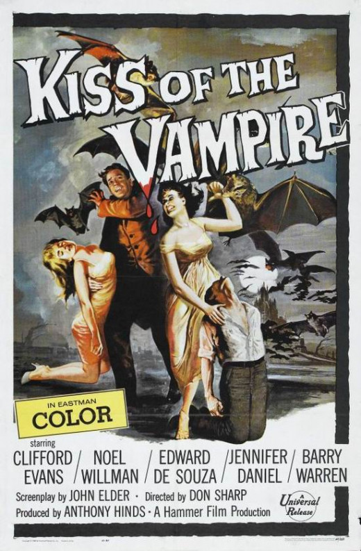 Kiss of the Vampire (1963) poster