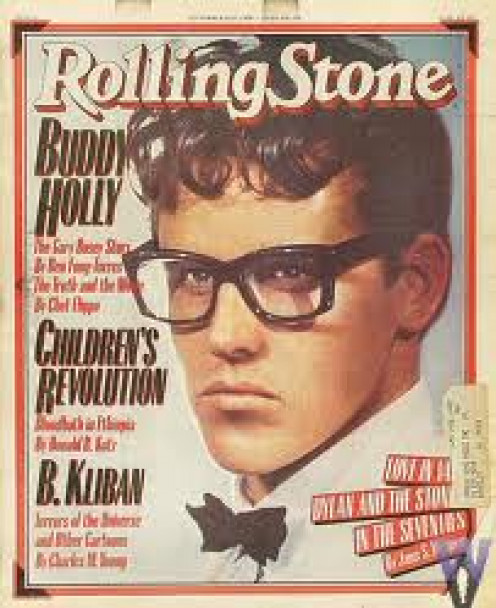 Buddy Holly was a pioneer in rock and roll music and he was very popular with the ladies. He suffered an untimely death at an early age.