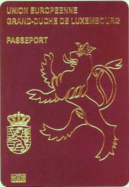 Grand Duchy of Luxembourg passport