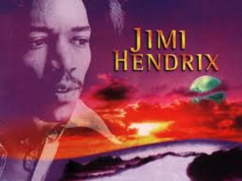 Jimi  Hendrix is one of if not the best guitarist in history. One of his best songs is Foxy Lady.