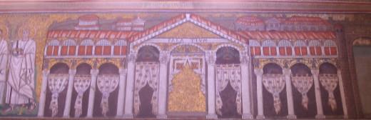 a wall mozaic