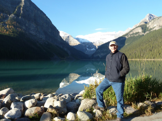 My insignificance as measured by Lake Louise