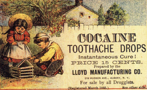 This advert for toothache was aimed specifically for children with toothache!