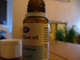 Oil of Cloves - a very old remedy for toothache.
