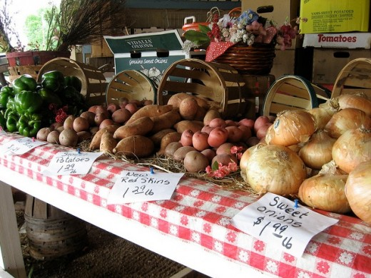 By USDAgov : Farmers Markets offer in season, local produce to communities nationwide