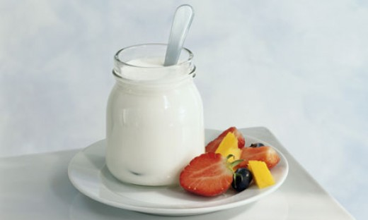 You can add fruit to your Yoghurt to make it tastier and healthier.