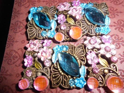 Jewel design turned into a glam iphone case on Zazzle. http://www.zazzle.ca/oakwoodarts